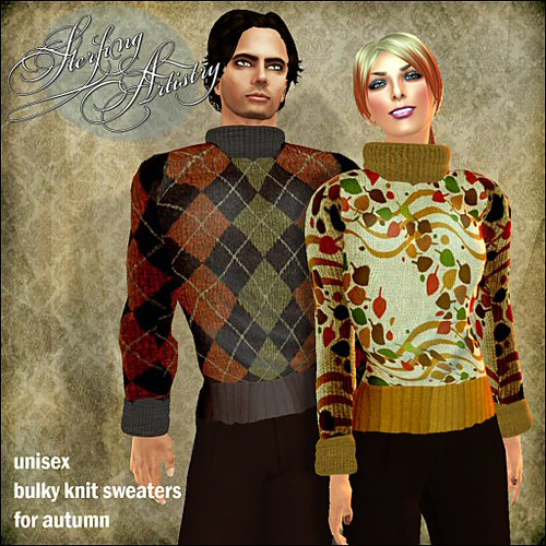 bulky knit autumn sweaters