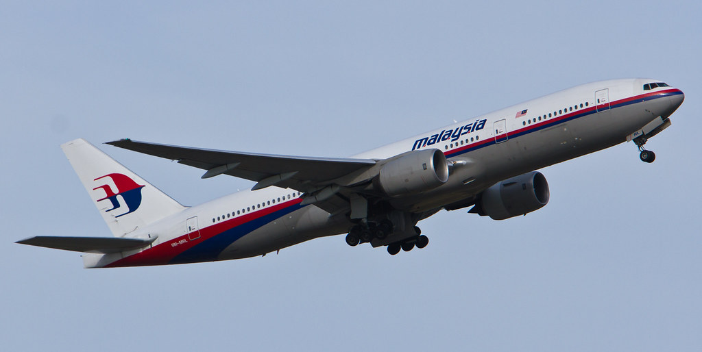 MH124 departing Perth Airport