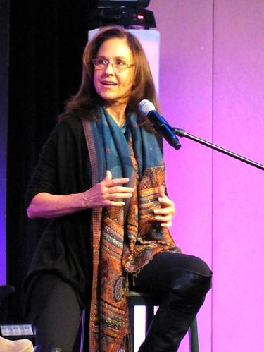 Erin Gray at Hal-Con 2011