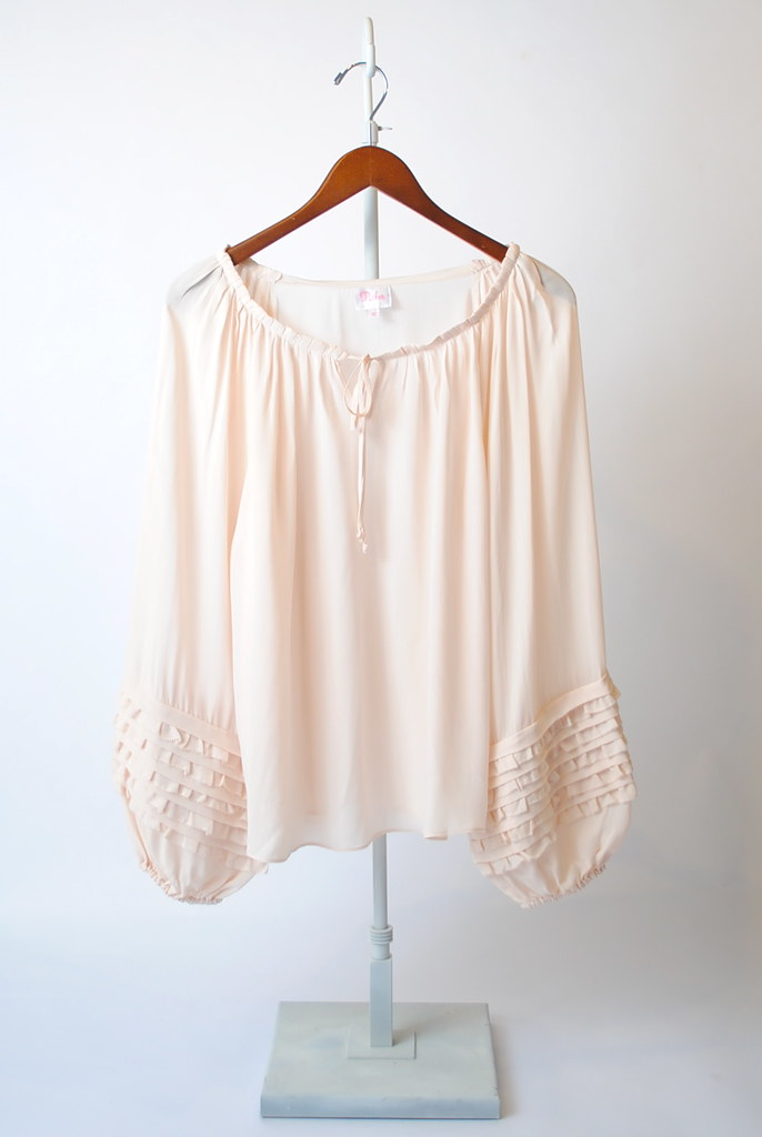 Boho Ruffle Sleeve Top