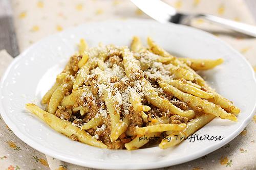 波隆那肉醬扭繩麵。我的義大利麵 EASY PASTA-111117
