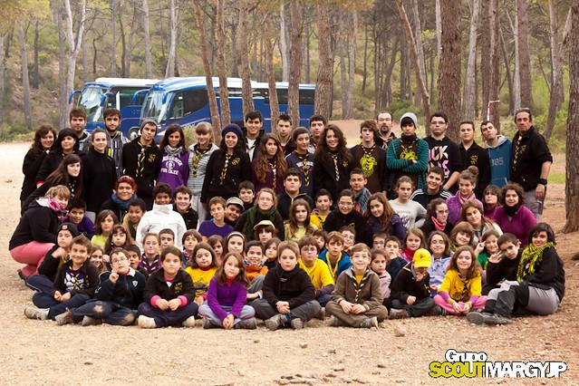 Acampada de Grupo Margyjp Sierra Espuña Nov - 2011