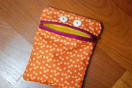 Monster zipper pouch