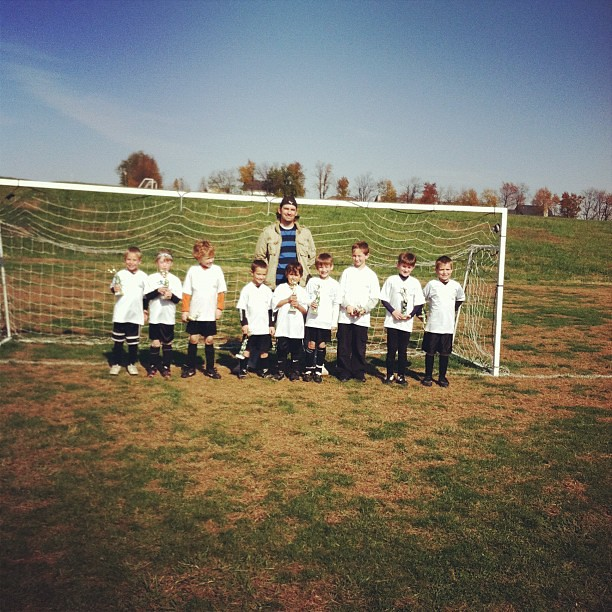 Last game of season u-8