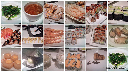 Day 321 - B'day celebration @ Sushi Restaurant