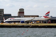 ERJ-190 G-LCYK  London City 03.05.11 (jonf45) Tags: city london airport aircraft civil british ba airways airliner connect 190 embraer erj glcyk