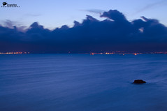 Lo Scoglio (Rob McFrey) Tags: sardegna blue sea italy seascape rock landscape nikon scenery italia mare blu rob hour roberto nikkor nano f4 cagliari vr paesaggio afs crepuscolo sardo d90 24120mm scoglio 24120 mcfrey defraia nikkor24120mmf4gedvr