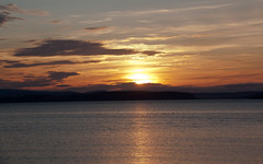 Sunset over the North Sea from Nairn (DSLRManu) Tags: sunset canon scotland highland nairn couchdesoleil eos450d