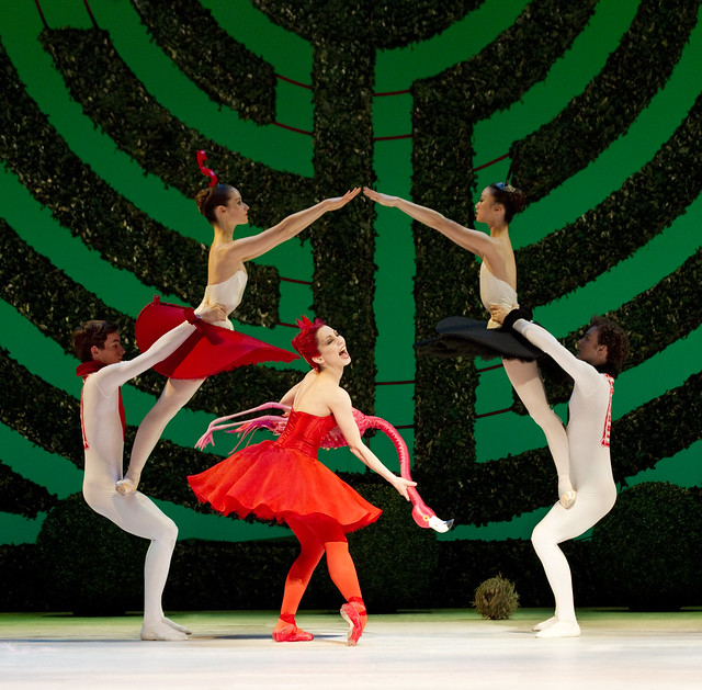 "Tamara Rojo as The Red Queen, and artists of the Royal Ballet in Christopher Wheeldon's Alice's Adventures in Wonderland.  The Royal Ballet 2010/11 season. <a href=""http://www.roh.org.uk/productions/alices-adventures-in-wonderland-by-christopher-wheeldon"" rel=""nofollow"">www.roh.org.uk/productions/alices-adventures-in-wonderlan...</a>"