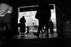 R0012795.JPG (Sigfrid Lundberg) Tags: street people woman station stair streetphotography railway railwaystation zm jrnvgsstation lundc kvinna lundscentralstation biogont2825 lundscentral 25mmf28zmbiogon