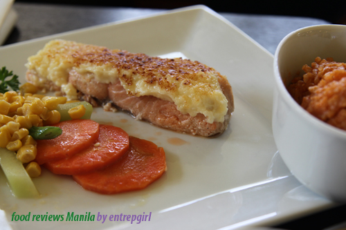 Conti's Baked Salmon