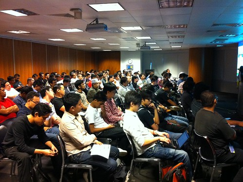 Filled room at Joomla!Day Malaysia 2011