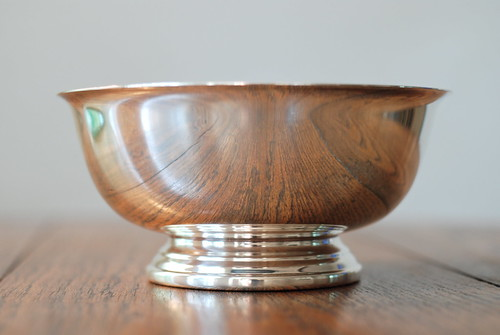 the Estate Sale: Vintage Silver Gorham bowl