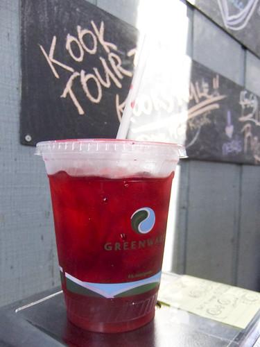 Hibiscus Iced Tea, Rockaway Taco