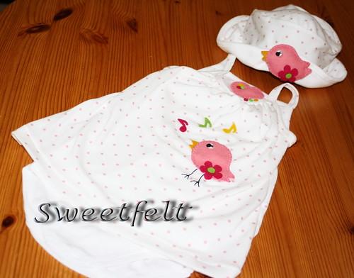 ♥♥♥ Para a Sarita ficar ainda mais catita... by sweetfelt \ ideias em feltro