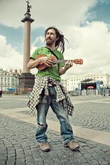 Rocky Leon (iamirrr) Tags: portrait sun man dreadlocks ukulele rocky leon singer shining youtube rockyleon
