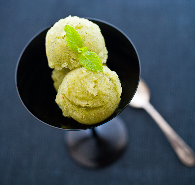 Shikanji (Indian Limeade) Sorbet