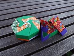 Boxes (Retsnimel) Tags: origami box modularorigami tomokofuse finepixs4000