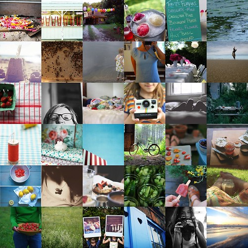 sunday summer lovin' a flickr favorites mosaic by kristin~mainemomma