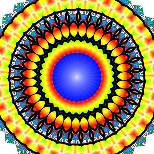 pattern orange circle2