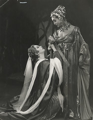 Titus Andronicus 1955 (Angus McBean  RSC) (Shakespeare Birthplace Trust) Tags: library centre archive shakespeare villains titus tamora shakespeares rsc andronicus