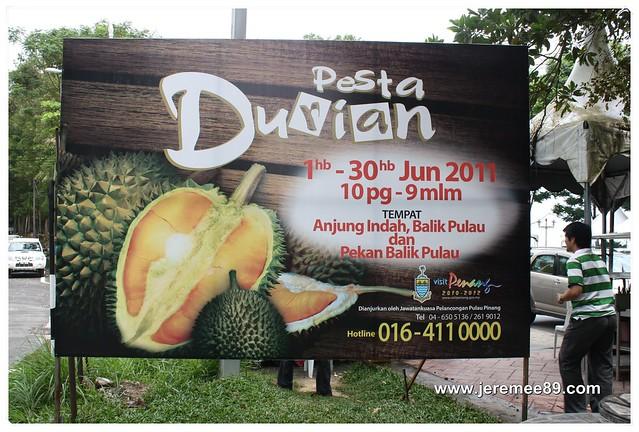 Pesta Durian @ Balik Pulau