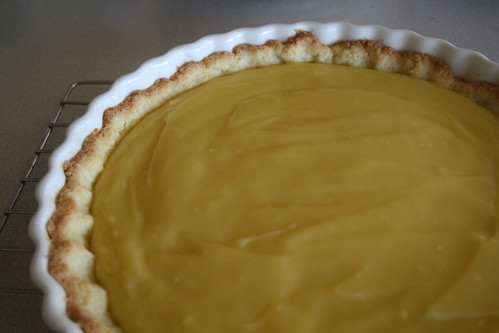 Custard Filling in the Tart Shell