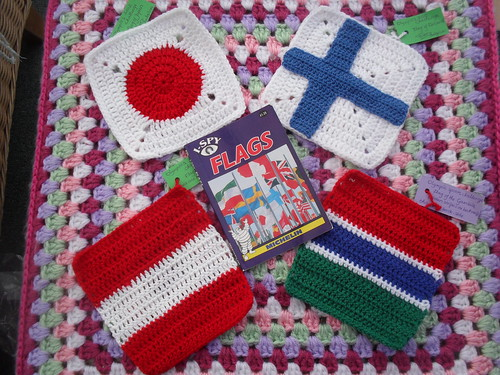 Four great Flags for our 'Olympic Blanket'.