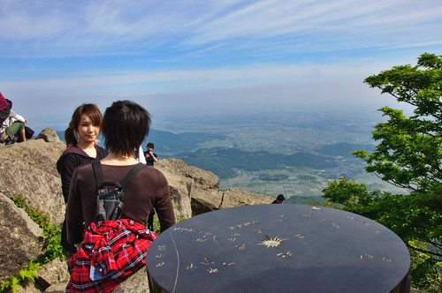 summit of Nyotai-san