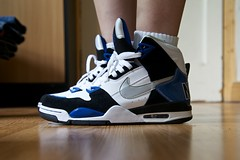 nike air flight condor high (thatgirlwiththekicks) Tags: high shoes air flight sneakers trainers nike kicks hi condor hitops