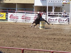 World's Oldest Rodeo - Prescott, AZ (midee1014) Tags: arizona horse barrel az racing worlds western rodeo cowgirl oldest prescott