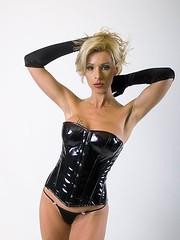 Achat vente Corset Vinyle Pvc Cuir sexy pas cher