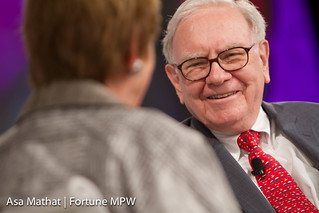 Warren Buffett of Berkshire Hathaway Inc. and ...