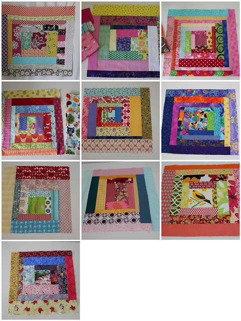 Most recent 10 cheeky blocks together....