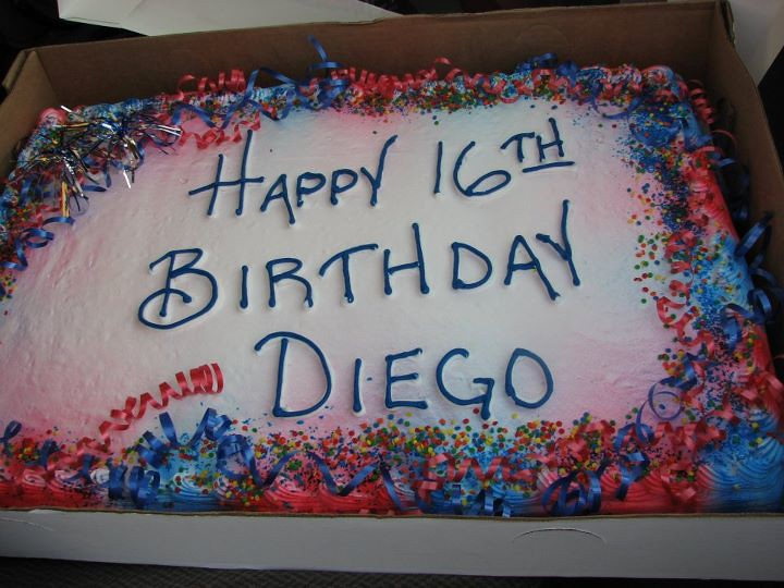 Happy 16th Birthday Diego
