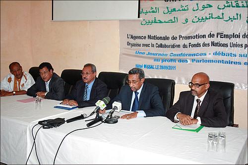 111004 Mauritanian forum brings together youths, officials | منتدى في موريتانيا يجمع الشباب والمسؤولين | Mauritanie : Un forum rassemble les responsables et les jeunes