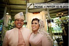 ROSE & AMIR Reception (Rasfan Abu Kassim) Tags: wedding canon garden eos reception 5d concept usm f28 malay ef20mm