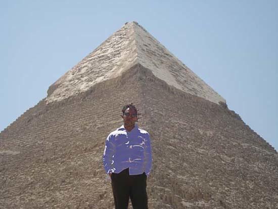 Pharaoh KhafRe Pyramid