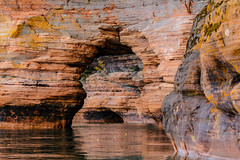 sea caves (jimmy_racoon) Tags: b autumn fall nature up wisconsin landscape is south w north shore usm upnorth 70200 f4 southshore cpl bayfield f4l 70200f4lisusm 70200f4isusm bwcpl canonxsi