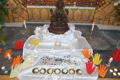Brighton Buddhist Centre shrine