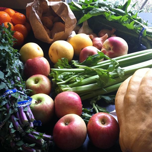 Farmer's market haul 10/5/11