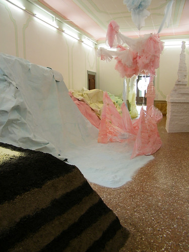 Karla Black- Scottish pavillion, Venice Biennale by birdlouise