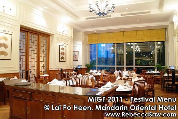 MIGF 2011 - Lai Po Heen, Mandarin Oriental-2
