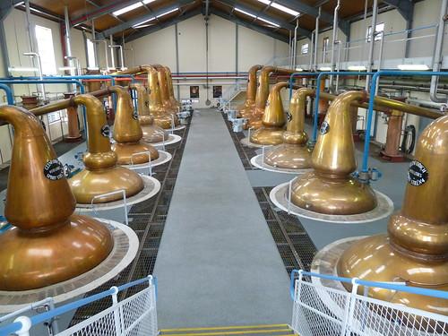 Whisky Stills at Glenfiddich