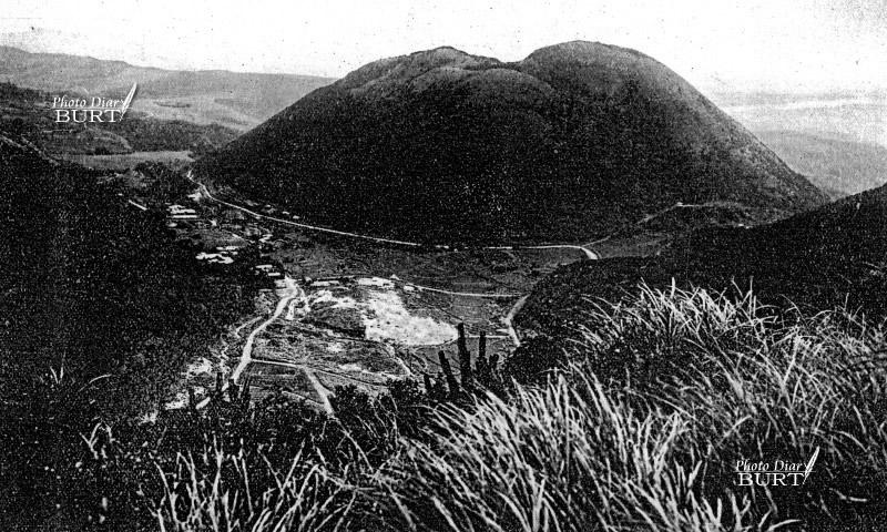 草山溫泉紗帽山(日本地理大系)
