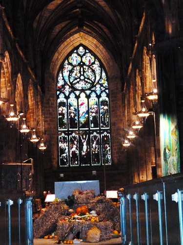 Harvest Festival at St Giles Cathedral