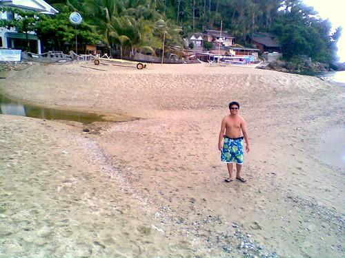uneven sand