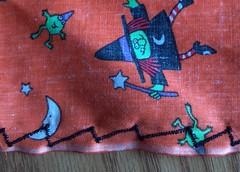 napkin closeup