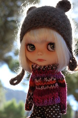 can you see squirrels? (Vainilladolly) Tags: doll blythe custom fiep vainilladolly