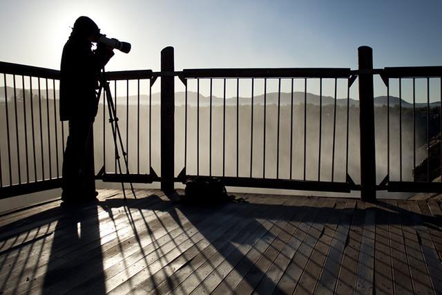 Photographer at Augrabies National Park 1